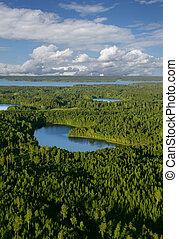 Hideaway lake