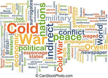 hideg, fogalom, háború, háttér