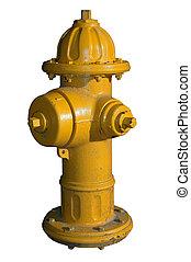 hidrante, amarela