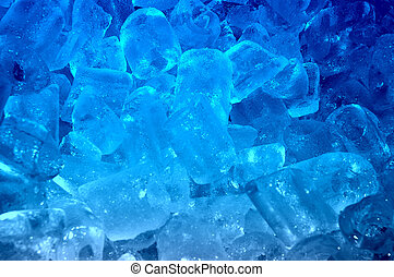 hielo azul, plano de fondo