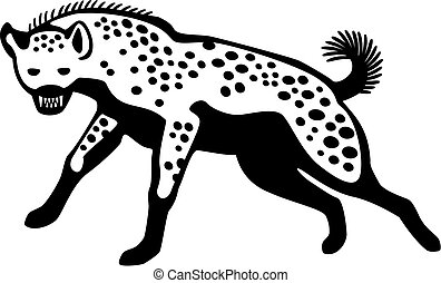hiena, corriente