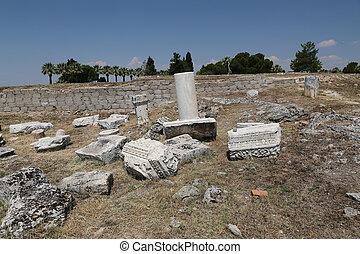 hierapolis, pavo, ruinas antiguas, ciudad
