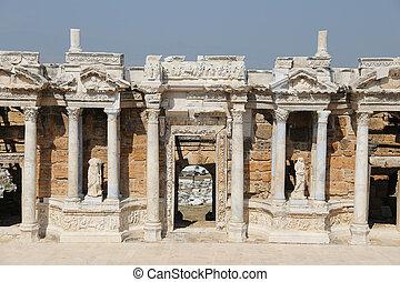 hierapolis, pavo, teatro