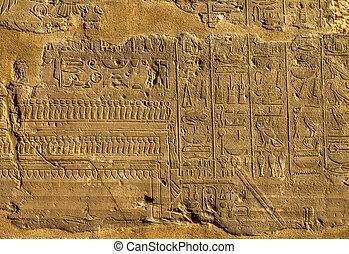 hieroglyphics, イメージ, 古代エジプト