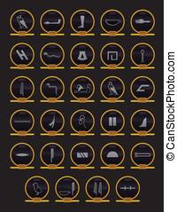 hieroglyphics, egiziano