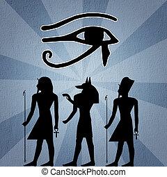 illustration of Horus eye