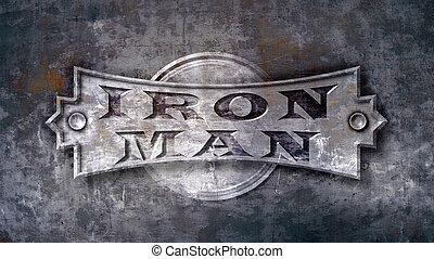 hierro, hombre