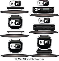 HiFi icons