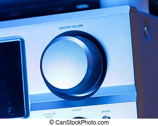 Hifi - Volume knob on a hifi amplifier