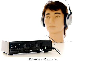 Hifi  Sound Headset system