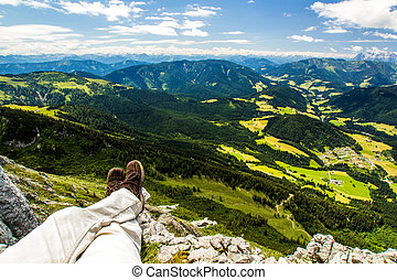 High Alps view