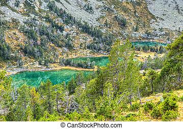 High Altitude Green Lakes