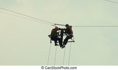 High-altitude works