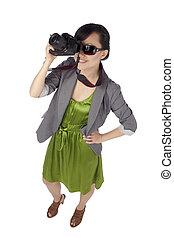 asian female photographer