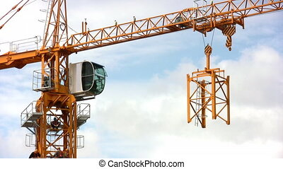 high building crane