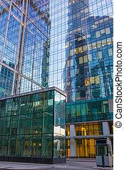 buildings of modern business center