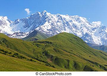 Caucasus mountains - High Caucasus mountains....