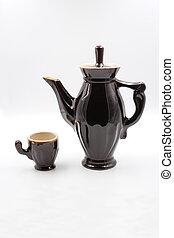High coffee jug.