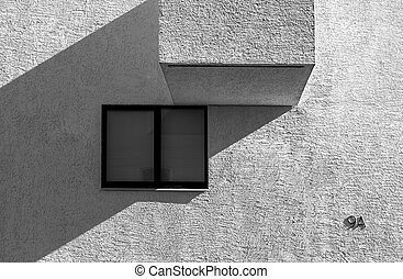 High contrast abstract architecture