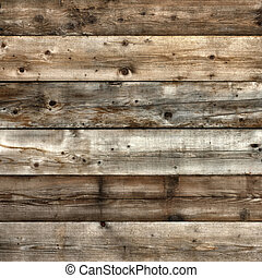 High contrast old natural pine wood background square