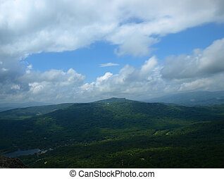 High country - View seen from Grandfather Mountain Sate Park...