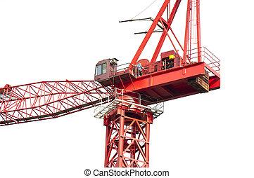 High crane close-up - Still installed in the crane close-up