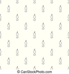 High crane pattern vector seamless