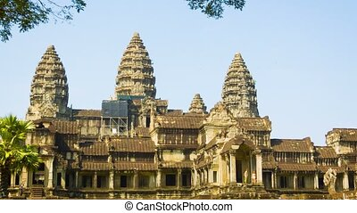 Angkor Wat. The temple complex in Cambodia - High definition...
