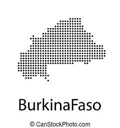 High detailed vector map - Burkina Faso