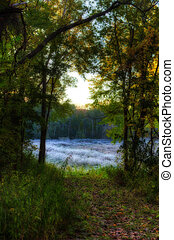 High Dynamic Range image of landscape - High Dynamic Range...