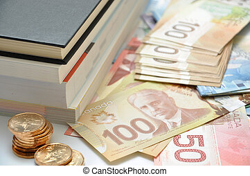 High education fee costs money