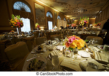 High End Wedding Reception - a high end wedding banquet hall