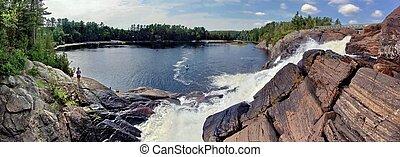 High Falls, Muskoka River, Ontario, Canada