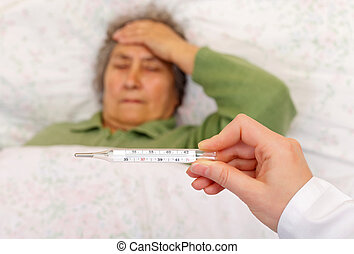 High fever and headache - Having high fever and headache...
