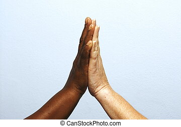 High five - Sorting out racial issues and winning