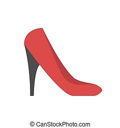 High heel shoe icon