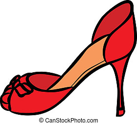 high heels color