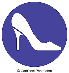high heels concept icon - Illustration of high heels concept...