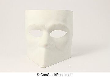 High Key Mask venetian style - Venetian style mask -...