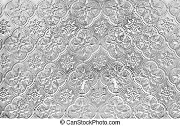 high key texture star pattern