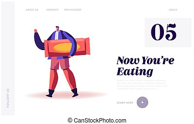 High Level Carbs, Sugar and Glucose Snack Production Website...