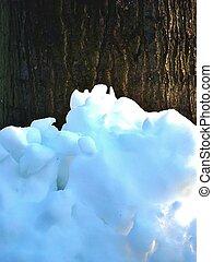 High melting snow