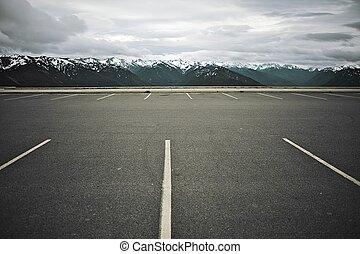 High Mountain Parking