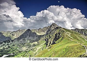 High mountain - Tatras.
