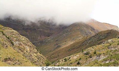 High mountains on the Pirineus - Spain, high mountains on...