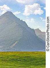 high peak of the Tatra mountain - high rocky peak of Tatra...