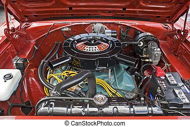 High performance V8 engine