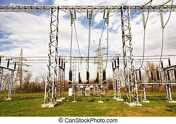 high-power station