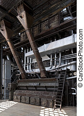 high pressure boiler coal power plant to produce electricity