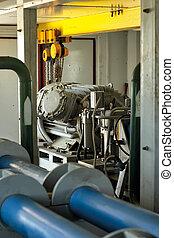 High-pressure pump.